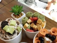 Roll Up Ice Cream: Internet's New Sweet Obsession