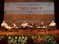 Industry Meet 2017 Held At IIM Indore