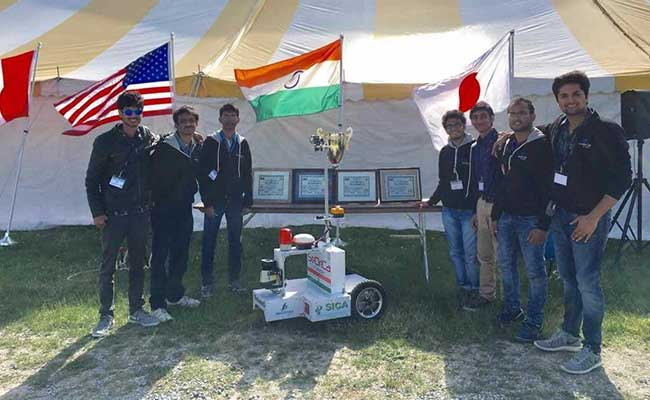 IIT Bombay Wins 25th Intelligent Ground Vehicle Competition