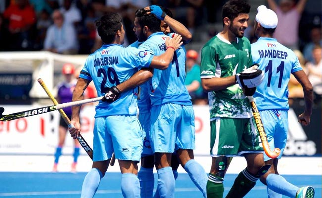 INDvsPAK Hockey वर्ल्ड लीग : भारतीय हॉकी टीम ने एक बार फिर पाकिस्तान को बुरी तरह पीटा...