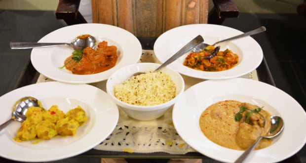 indian food mughlai food meal