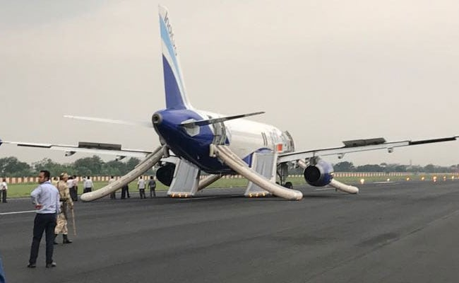 IndiGo Flight Evacuated In 60 Seconds In Patna After Smoke Seen In Cabin
