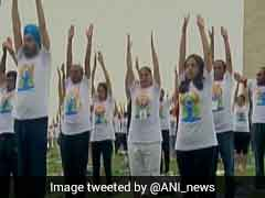 Hundreds Gather In US To Mark International Yoga Day