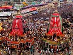 Thousands Pull Lord Jagannath's Chariot Till Gundicha Temple Despite Downpour In Puri