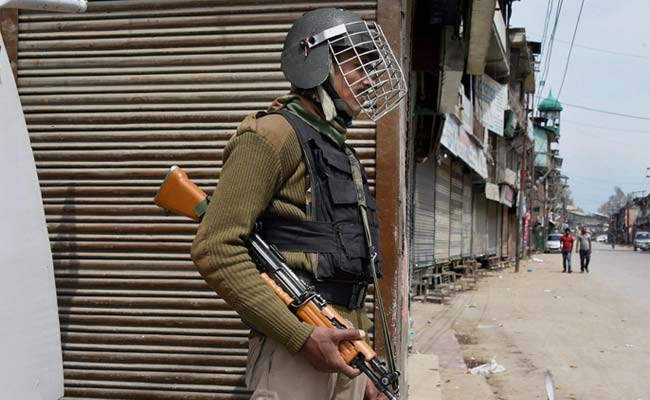 Policeman Injured In Terrorist Attack In Jammu And Kashmir's Anantnag