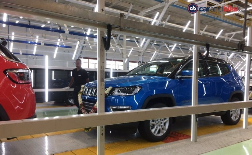 jeep compass for export markets
