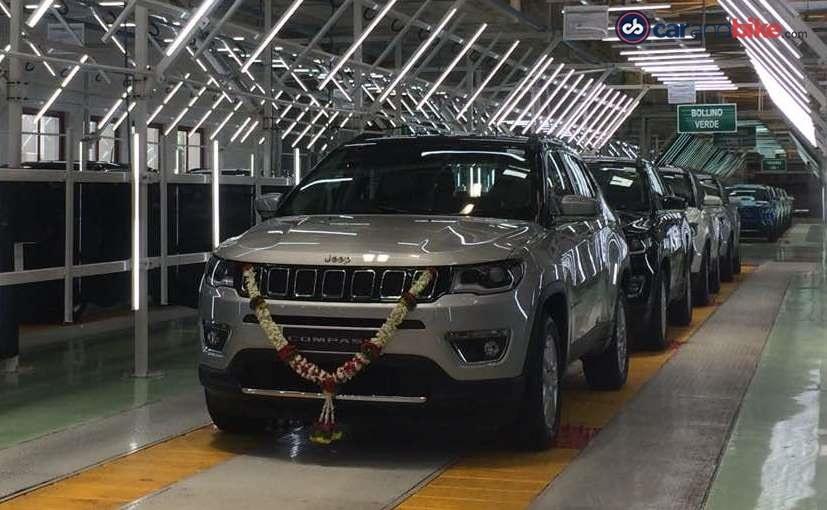 Jeep Compass Production Commences In India; Launch In August