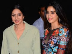 Sridevi's Daughter Jhanvi May Also Star In Tamil Films