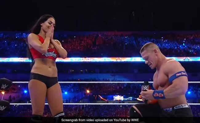 इजहार-ए-इश्क की तरह WWE स्टार जॉन सीना और निक्की बेला की शादी का TV पर होगा लाइव टेलीकास्ट?