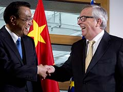 European Union's Jean Claude Juncker Opens China Summit Vowing 'No Backsliding' On Paris Deal