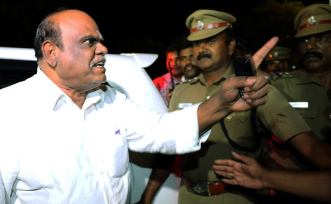 Justice (Retired) Karnan Moves Petition Before West Bengal Governor For Bail Or Parole