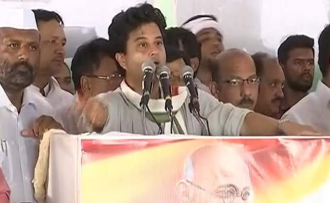 If BJP-Ruled Maharashtra, Uttar Pradesh Can Give Waiver, Why Can't Madhya Pradesh, Asks Jyotiraditya Scindia