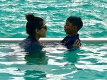 More Pics From Kajol, Ajay Devgn And Daughter Nysa's Maldives Holiday
