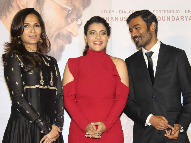 Kajol Says VIP 2 Co-Star Dhanush 'Lied' To Her. Oops