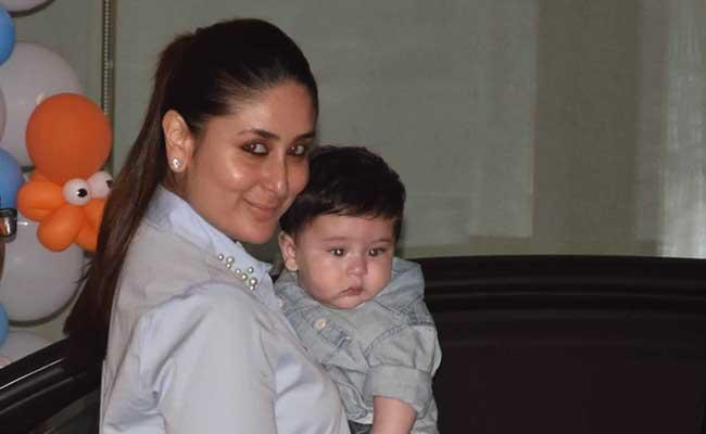 यह है करीना कपूर खान का नन्हा नवाब तैमूर, मम्मी के साथ निकला है बर्थडे पार्टी मनाने, देखें फोटो