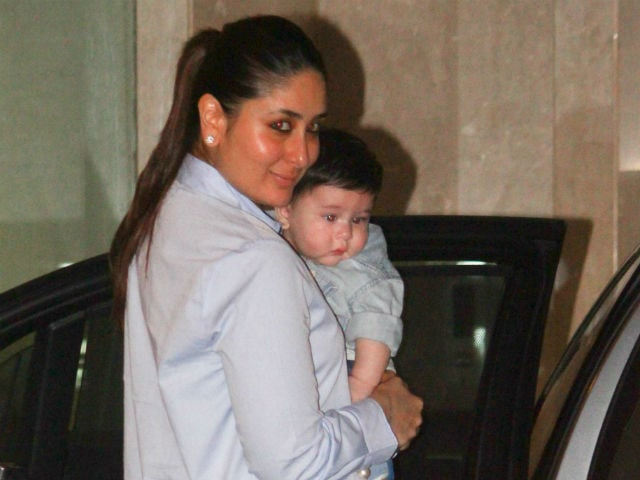 ICYMI: Kareena Kapoor Khan's Son Taimur In Adorable Pic ...