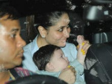 Kareena Kapoor Khan And Taimur Are Special Guests At Tusshar Kapoor's Son's First Birthday Party