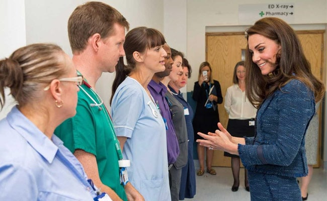 Kate Middleton Makes Surprise Visit To London Terror Attack Victims