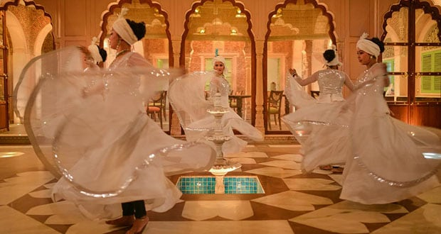 kathak dance girls haveli