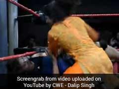 सलवार सूट में ही खली की शिष्या को चित कर चुकी भारतीय लड़की अब WWE में कहर बरपाएगी, Video...
