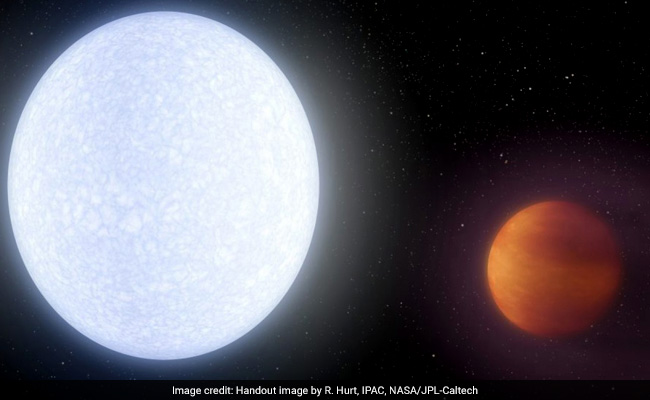 Hottest Planet Ever Discovered Has An Atmosphere As Warm As A Star's