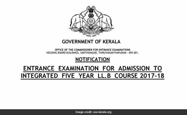 Kerala Five Year LLB Entrance 2017: Apply Before June 16