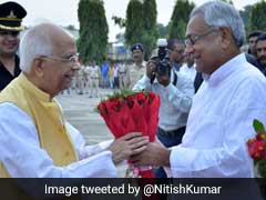 West Bengal Governor Keshri Nath Tripathi Takes Oath As Bihar Governor