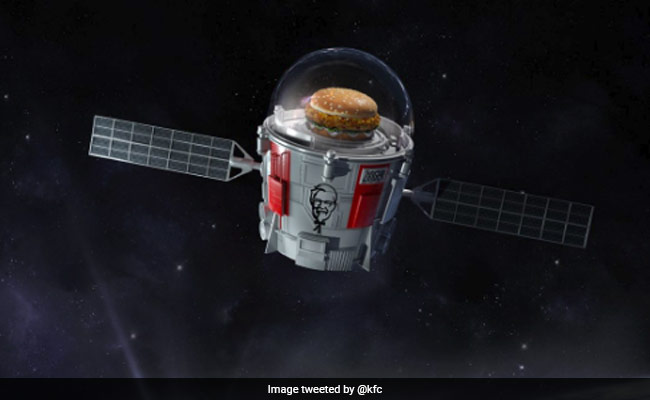 KFC Is Sending A Chicken Sandwich Into Space. Well, The Edge Of Space