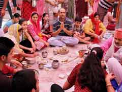 Hundreds Of Pandits Arrive In Kashmir To Celebrate Annual Kheer Bhawani Festival