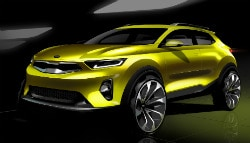 This Is The New India Bound Kia Stonic SUV!