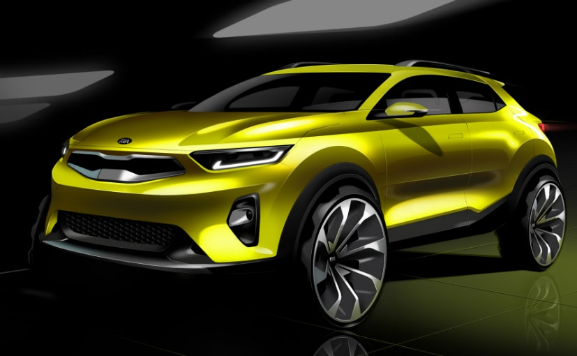 this is the new india bound kia stonic suv ndtv carandbike. Black Bedroom Furniture Sets. Home Design Ideas