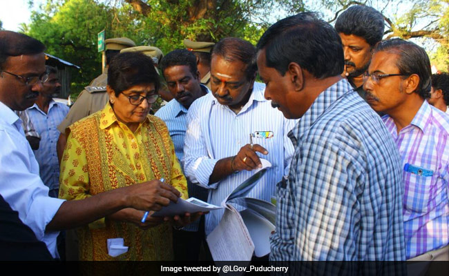 'Am Designated Administrator,' Kiran Bedi Asserts In Puducherry Turf War