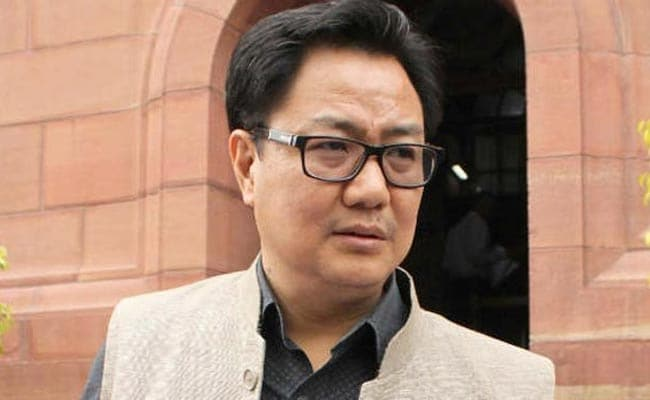 No Damage To Any Sikh Institutions In Shillong, Says Kiren Rijiju