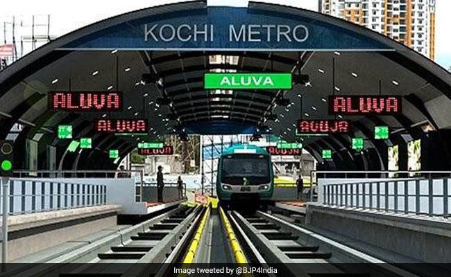 kochi metro long shot