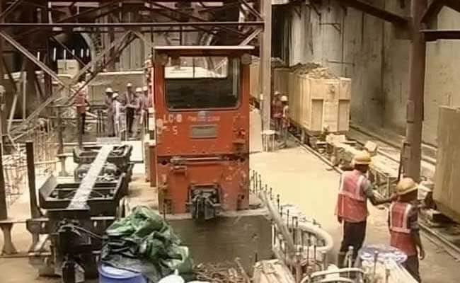 kolkata metro tunnel