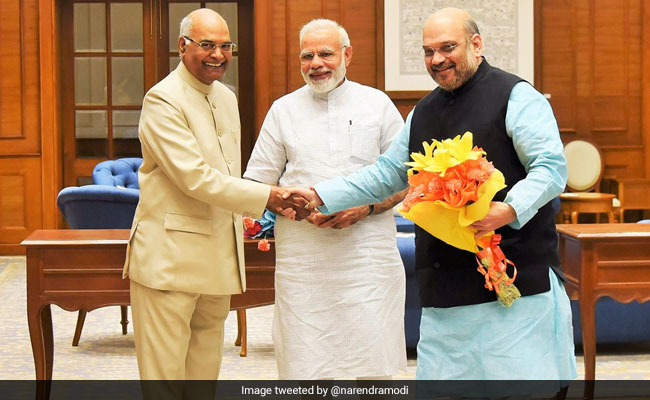 On Eve Of Presidential Poll, A Pep Talk For NDA Lawmakers From PM Modi