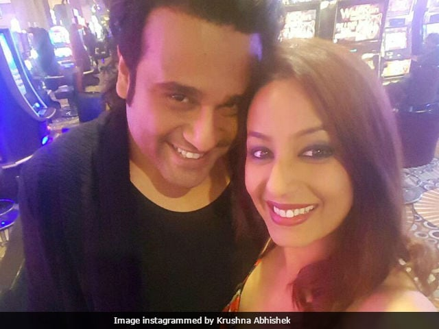 Krushna Abhishek and Kashmera Shah become parents to twins via surrogacy
