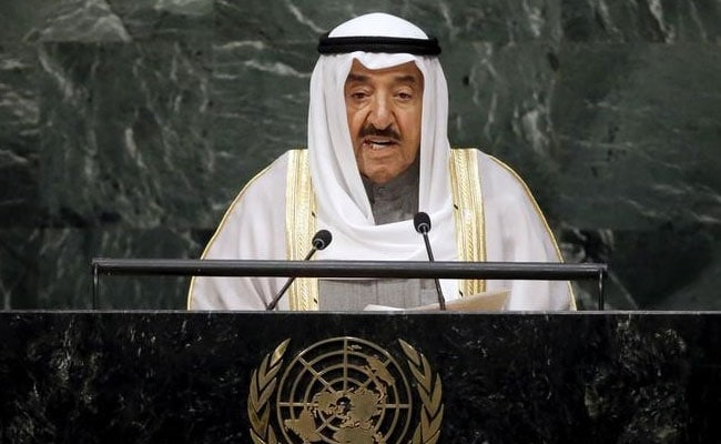 Kuwait's Emir Sabah Al-Ahmad Al-Sabah Leaves For Saudi For Qatar Talks