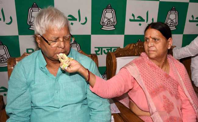 Elections 2019: State And Centre Want To Kill Lalu Yadav By Poisoning, Says Rabri Devi