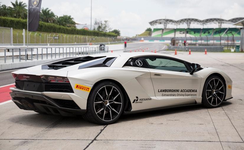 Lamborghini Aventador S Rear