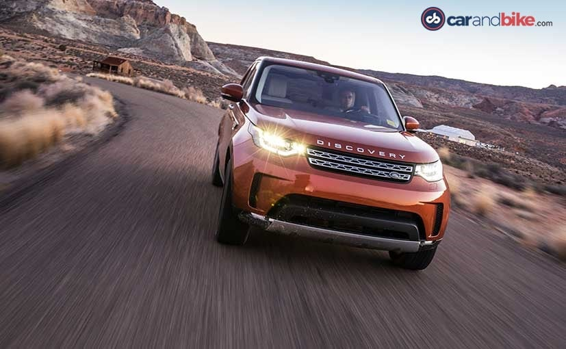 2018 NDTV Carandbike Awards: Land Rover Discovery Wins Luxury SUV Of The Year