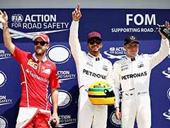 Lewis Hamilton Takes Canadian Pole, Given Ayrton Senna's Helmet