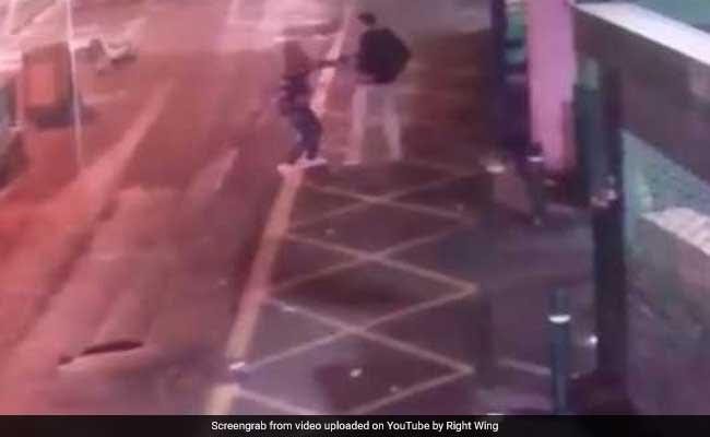 CCTV Video Of Police Taking Down London Bridge Terrorists Appears Online