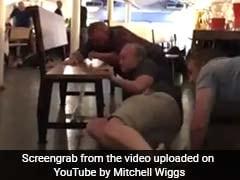 In Cellphone Video, Panic As Terror Struck A London Restaurant