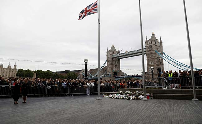 Britain falls silent to honour terror victims ahead of vote