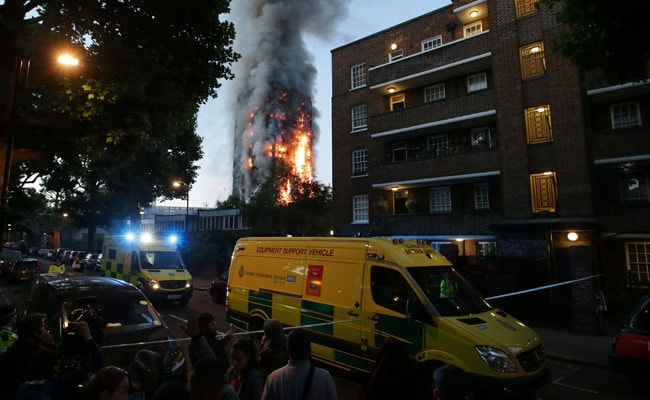 Some Dead, 50 In Hospital, As Fire Engulfs London Tower Block