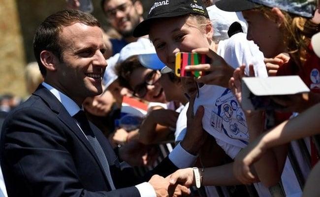 Emmanuel  Macron Wins Commanding Parliamentary Majority, Estimates Show