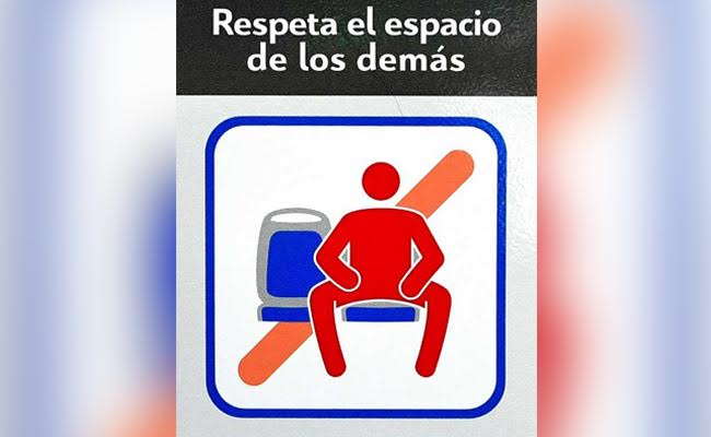 Close Your Legs Please: Madrid Bus Manspreading Ban Starts