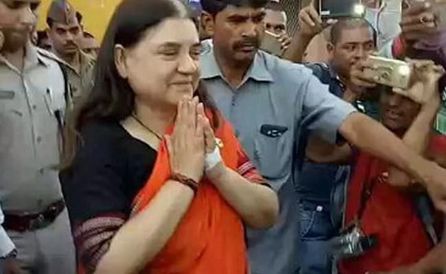Maneka Gandhi Admitted To New Delhi AIIMS, To Undergo Surgery