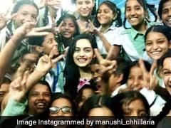 'मासिक धर्म स्वच्छता के बारे में जागरूकता लाना चाहती हूं', मिस इंडिया वर्ल्ड मानुषी छिल्लर